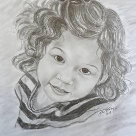Julie Brugh Riffey - Little Girl Portrait - Bella
