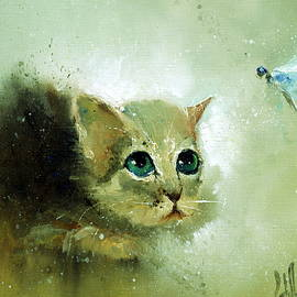 Igor Medvedev - Little Kitty and Dragonfly