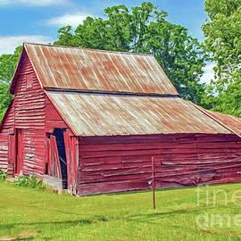 Marion Johnson - Little Red Barn