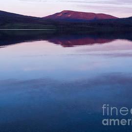 Stephan Pietzko - Little Salmon Lake Sunset Yukon Territory Canada
