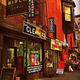Miriam Danar - Little Shops of New York - Street Scene