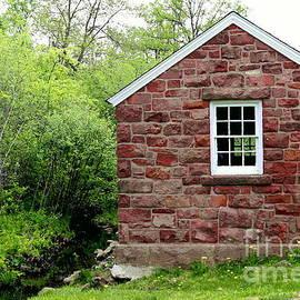 Marcel  J Goetz  Sr - Little Stone House By The Brook