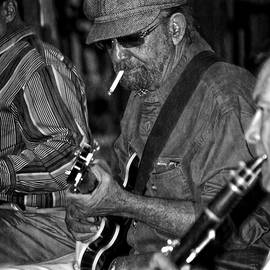 Greg and Chrystal Mimbs - Live Music In New Orleans in Black and White