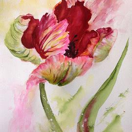 Bette Orr - Lively Parrot Tulip