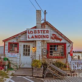 Edward Fielding - Lobster Landing Sunset