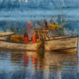 Jeff Folger - Lobster man pulling in his lobster pots