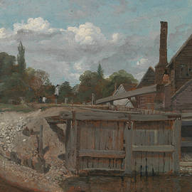Lock gate - William Mulready