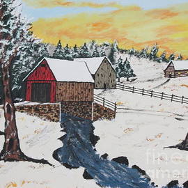 Jeffrey Koss - Log Cabin Covered Bridge