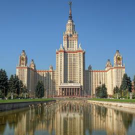 Alexey Kljatov - Lomonosov Moscow state university at day