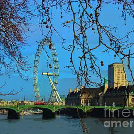 Al Bourassa - London Eye Perspective II