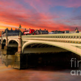 London Sunset - Adrian Evans