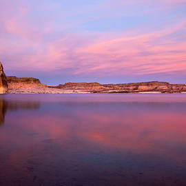 Mike  Dawson - Lone Rock Sunset