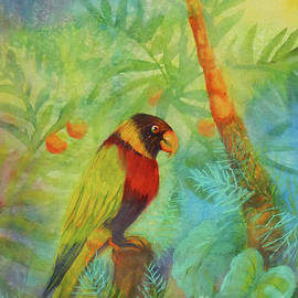 Sharon Nelson-Bianco - Lonely Rainforest Parrot