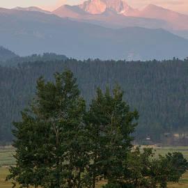 Aaron Spong - Longs Peak from Moraine Park - Summer
