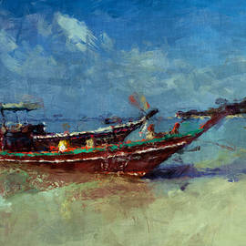 Stefan Olivier - Longtail boat on Ko Phangan