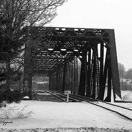 Rosemarie E Seppala - Looking Across To The Other Side....  Railroad Tressel