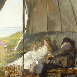 Looking at the Sea - William Orpen
