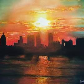 Janine Ferranti - Loopy Doopy Sunset