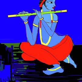 Anand Swaroop Manchiraju - Lord Krishna-2