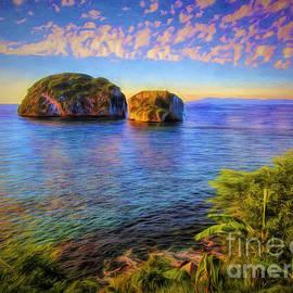 Chuck Caramella - Los Arcos Near Sunset  ...