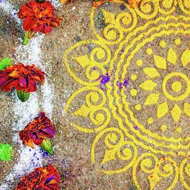 Lotus Rangoli - Tim Gainey