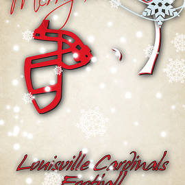 LOUISVILLE CARDINALS CHRISTMAS CARD - Joe Hamilton