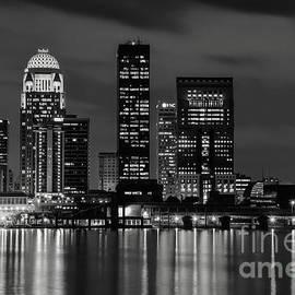 Bob Phillips - Louisville Skyline at Night 2