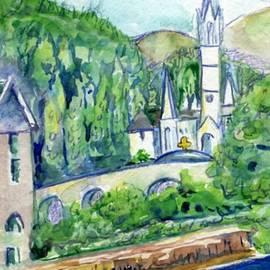 Patricia Ducher - Lourdes Sanctuary across the Gave River