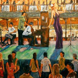 Richard T Pranke - Love of Jazz by Prankearts