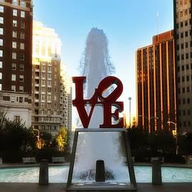 Bill Cannon - Love Park - Love Conquers All
