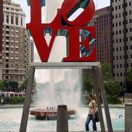 Sally Weigand - Love Sculpture