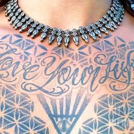 Barbie Corbett-Newmin - Love Your Life Tattoo