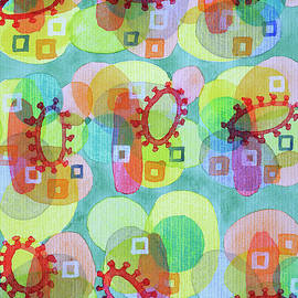 Heidi Capitaine - Lovely Pattern with Red Rings