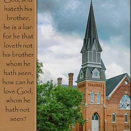 Larry Bishop - Loving God and Man