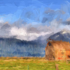 Donna Kennedy - Low Clouds - Impasto