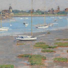Low Tide, Riverside Yacht Club - Theodore Robinson
