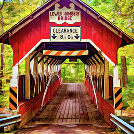 Steve Harrington - Lower Humbert Covered Bridge 5 - Paint