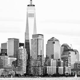 Regina Geoghan - Lower Manhattan in Black and White