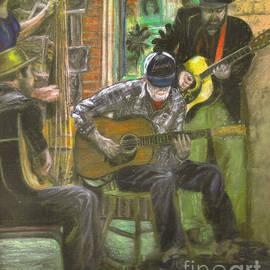 Janice Bays - Lucky Blue Crawdad Quartet