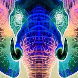 Lucky Elephant Mirror Invert - Sarah Jane