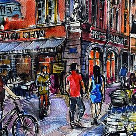 Mona Edulesco - LYON CITYSCAPE - STREET SCENE #03 - Rue Saint Jean