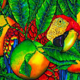 Daniel Jean-Baptiste - Macaw and Oranges - Exotic Bird