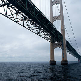 Rich Sirko - Mackinac Bridge - From The Water Level