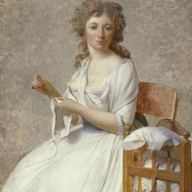 Madame de Pastoret and Her Son - Jacques Louis David