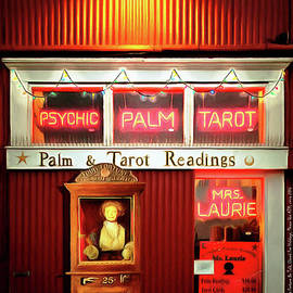 Wingsdomain Art and Photography - Madame Lauries Psychic Palm Tarot Fortune Be Told Closed For Holiday Please Use ATM circa 2016