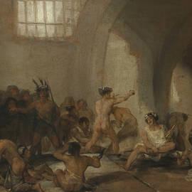 Madhouse - Francisco Goya