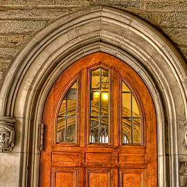 Geraldine Scull   - Madison Hall Rockefeller College Princeton University Gothic door