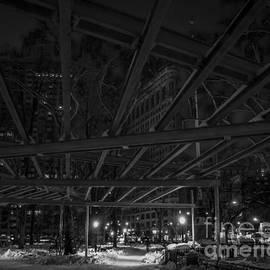 James Aiken - Madison Square Park and the Flatiron - BW