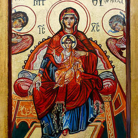 Ryszard Sleczka - Madonna with Child and Angels