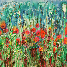 Shirley Sykes Bracken - Parade of the Flowers 22X30